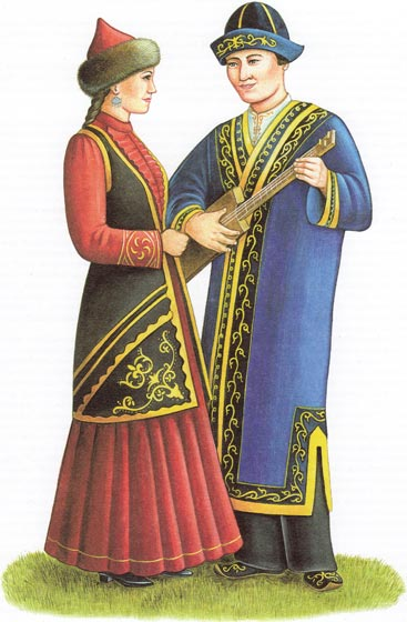 Реферат казахская национальная одежда 3786