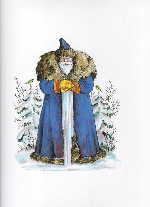 Снегири зимой на ветке фото